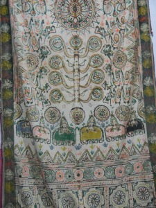 Old Rogan printed Duppata...its almost an antique!